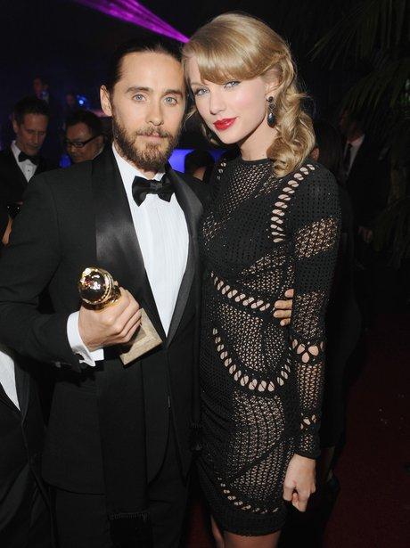 Jared Leto andTaylor Swift Golden Globes 2014