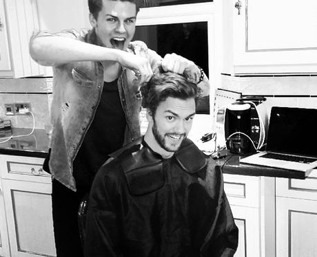Joel and Andy Hair Cut