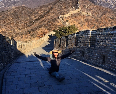 Katy Perry Great Wall Of China
