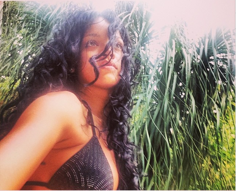 Rihanna on holiday in Brazil