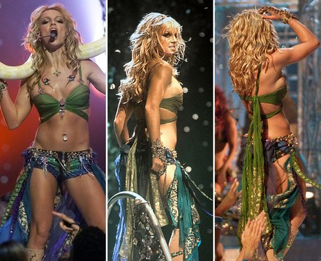 Riskiest Outfits: Britney Spears