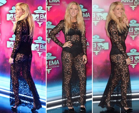 Riskiest Outfits: Ellie Goulding