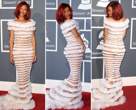 Riskiest Outfits: Rihanna
