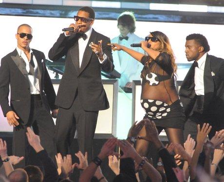 T.I. Jay Z, M.I.A. and Kanye West