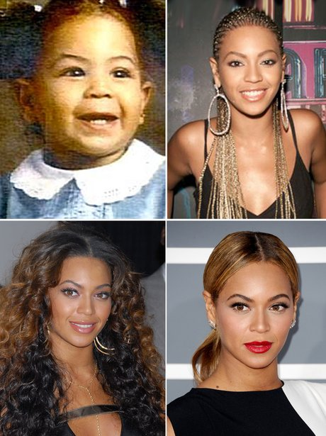 Celebrity Transformations: Beyonce
