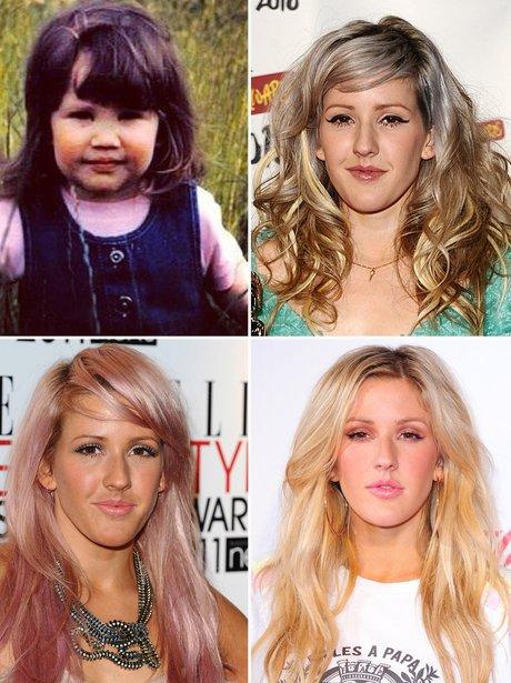 Celebrity Transformations: Ellie Goulding