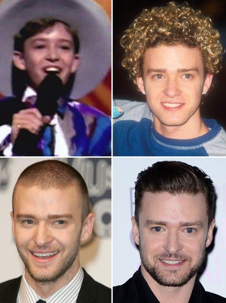 Celebrity Transformations: Justin Timberlake