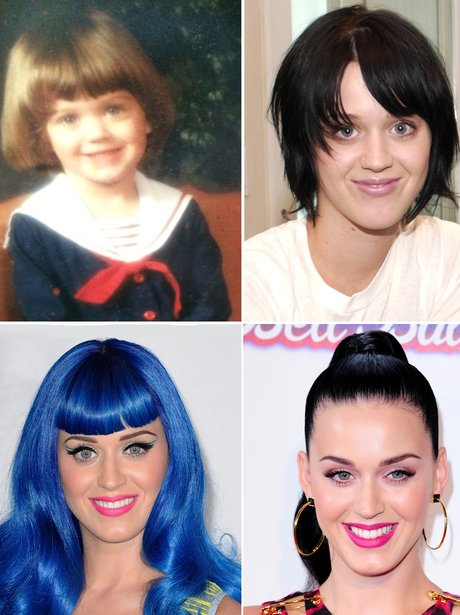 Celebrity Transformations: Katy Perry
