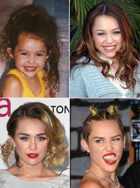 Celebrity Transformations: Miley Cyrus