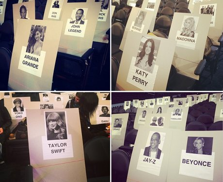 Grammys Seating Plan 2014