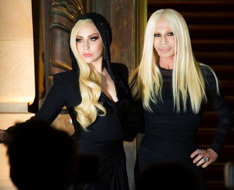 Lady Gaga and Donatella Verscae