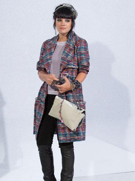 Lily Allen Paris Fashion Week