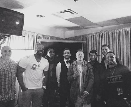 Macklemore and Justin Timberlake