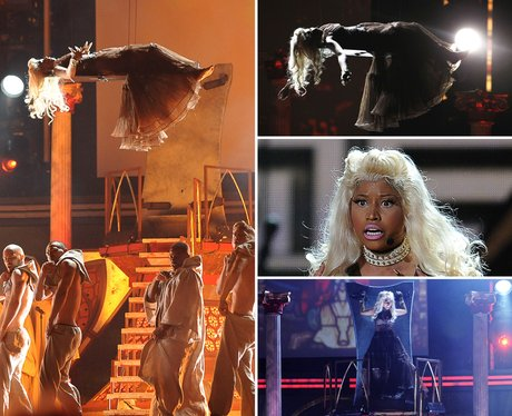 Nicki Minaj Grammys 2012