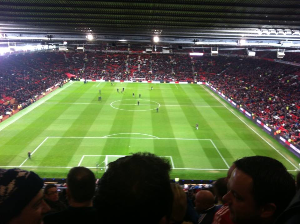 Old Trafford Sunderland v Man U Capital One Cup