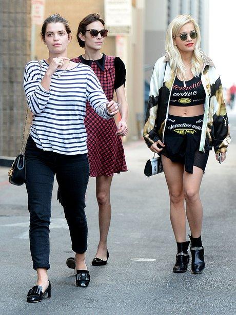 Rita Ora, Alexa Chung and Pixie Geldof