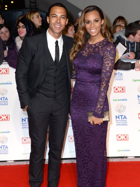 Rochelle and Marvin National Television Awards 201