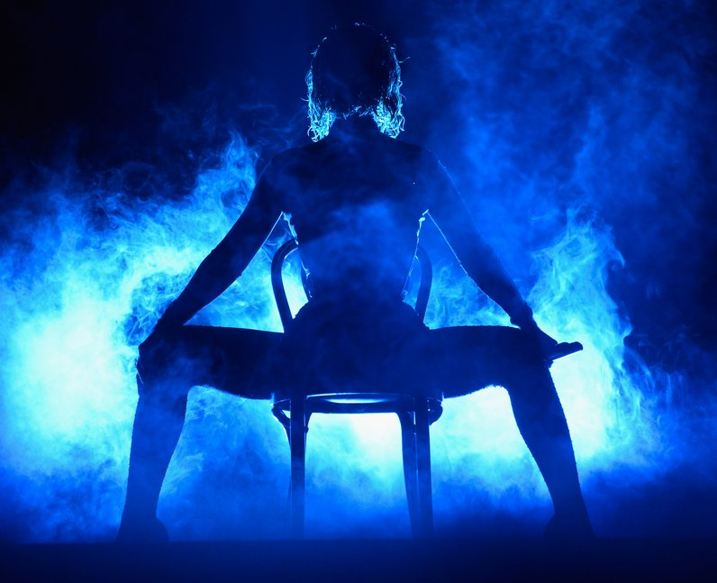 Beyonce performs on stage at the Grammy Awards