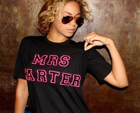 Beyonce Mrs Carter T Shirt