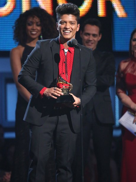 Bruno Mars at the Grammy Awards 2014