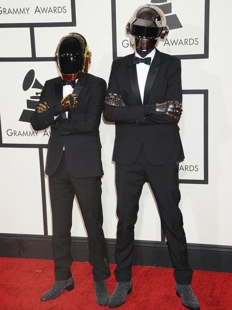 Daft Punk at the Grammy Awards 2014