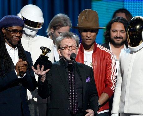Daft Punk win at the Grammy Awards 2014