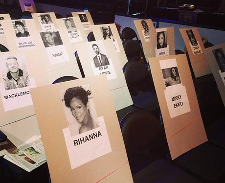 Grammy Awards 2014 Seating Plan
