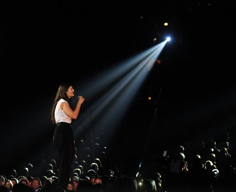 Lorde live at the Grammy Awards