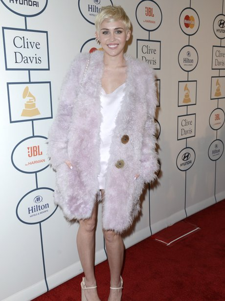 Miley Cyrus Pre-Grammy Awards 2014 Party