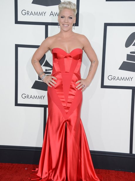 Pink at the Grammy Awards 2014