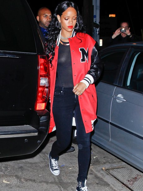 Rihanna Pre Grammy After Party 2014
