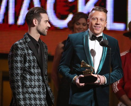 Ryan Lewis and Macklemore Grammy Awards 2014