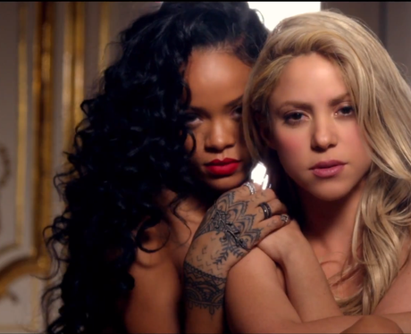 Shakira and Rihanna 'Can't Rem