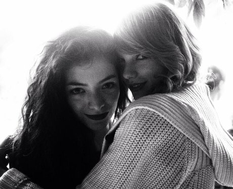 Taylor Swift And Lorde at the Grammy Awards