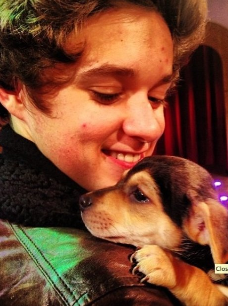 Brad The Vamps and Puppy