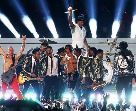 Bruno Mars, Red Hot Chili Peppers Super Bowl