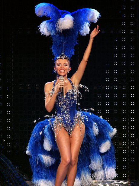 Kylie minogue on tour