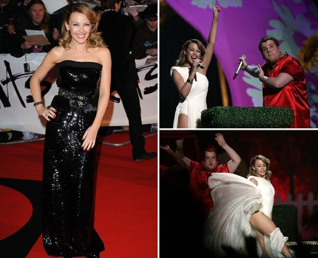 Kylie Minogue BRITS 2009