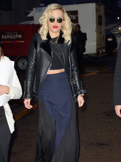 Rita Ora attending the MIDEM 2014 in Cannes, Franc