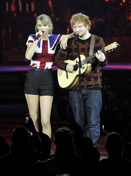 Image result for taylor swift and ed sheeran