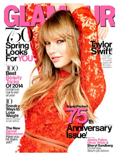 Taylor Swift Glamour 2014