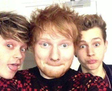 The Vamps and Ed Sheeran