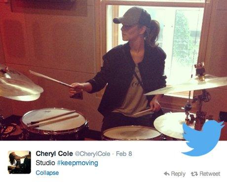 Cheryl Cole Twitter Highlights