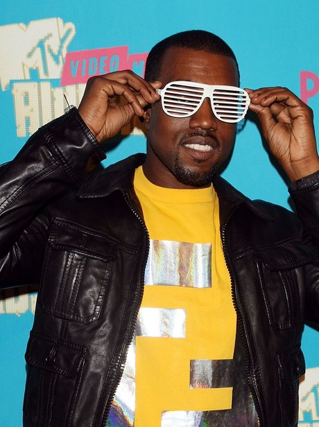 Image result for kanye west in shutter shades
