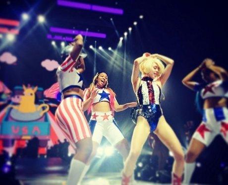 Miley Cyrus Bangerz Tour Instagram