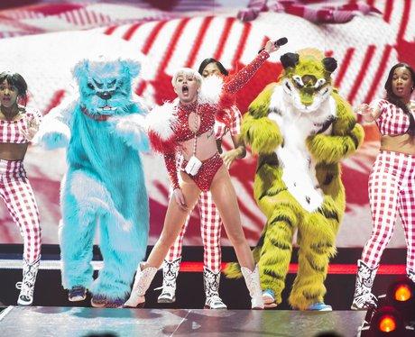 Miley Cyrus' 'Bangerz' Tour Launch