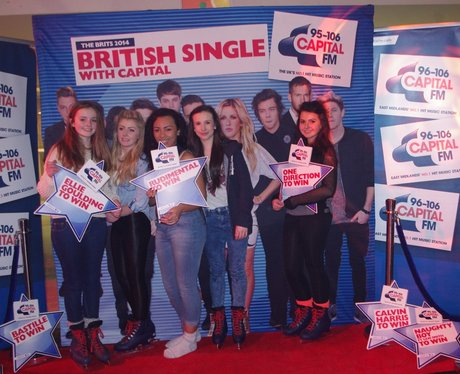 BRITs at National Ice Centre