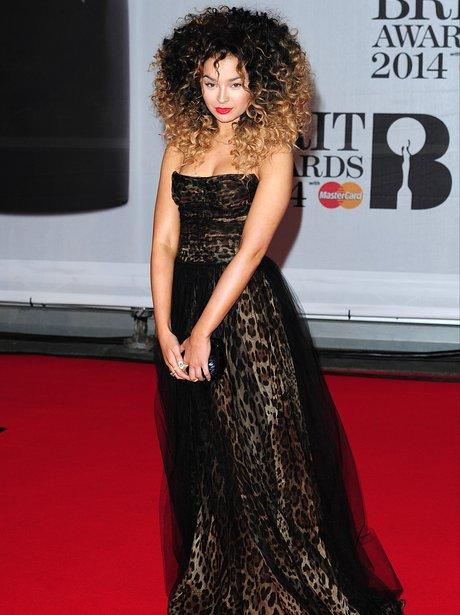 Ella Eyrr at the Brit Awards 2014