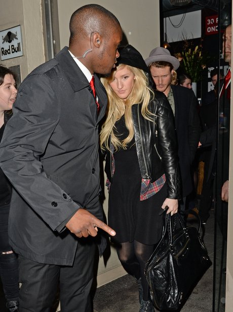 Ellie Goulding and Dougie Pointer