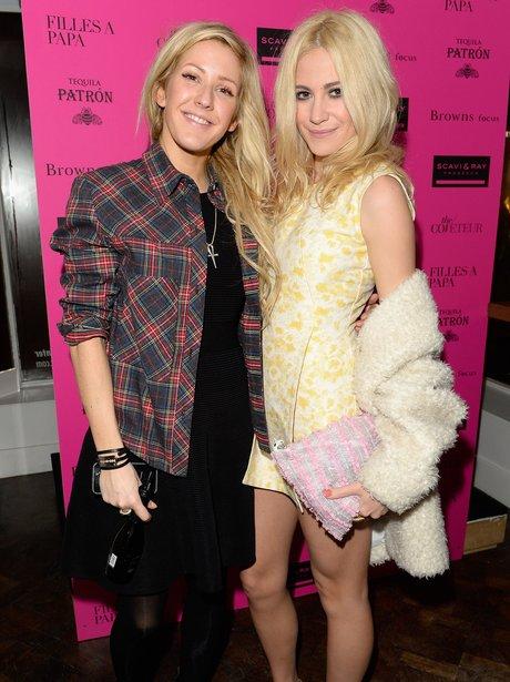 Ellie Goulding and Pixie Lott